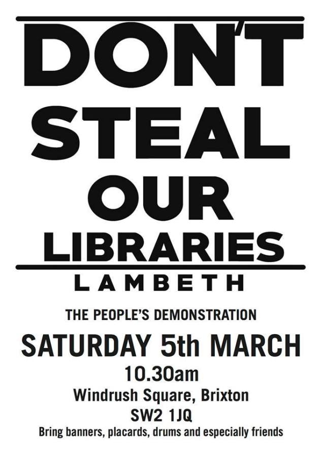 dont steal our libraries