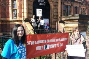 Lambeth strike march 2016 carnegie