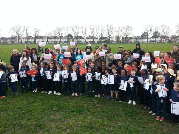 Lambeth strike march 2016 school