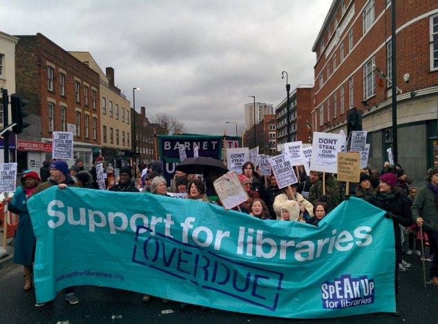 Support for libraries banner